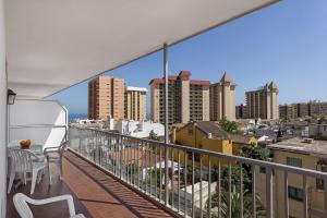 A balcony or terrace at Apartamentos Embajador