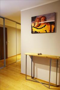 TV a/nebo společenská místnost v ubytování Apartament X