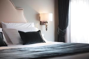 Letto o letti in una camera di Residenza Ducato Corte Contarina