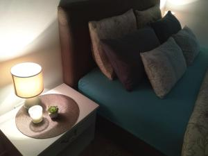 A seating area at Apartments Villa Andjela