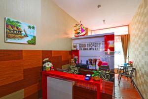 Dapur atau dapur kecil di The Suites Metro Apartment - King Property