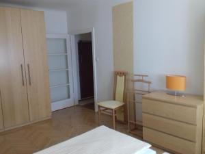 Cama o camas de una habitación en Ferienwohnung