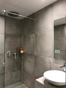 A bathroom at Palladium