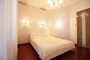 Кровать или кровати в номере Дача Доктора Штейнгольца