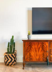 A television and/or entertainment center at Kubler's House