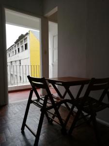 A balcony or terrace at Living in the vibrant center of Salvador