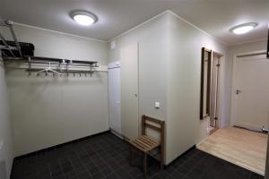 Ett badrum på RIBO Apartment Riksgränsen