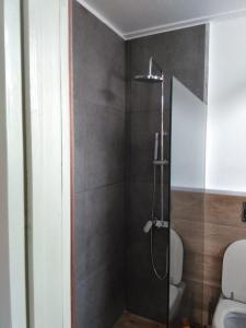 A bathroom at Lemon Tree Villas