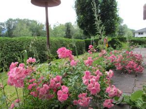 Ein Garten an der Unterkunft Escape Villa '70s Design, nature view & central
