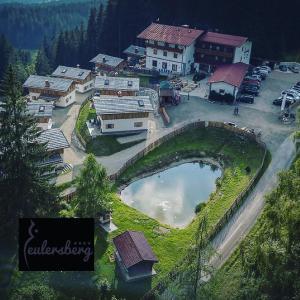 מבט מלמעלה על Das Eulersberg Apartments & Chalets