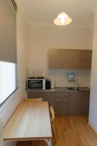 A kitchen or kitchenette at ANEMOS