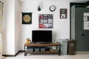 TV tai viihdekeskus majoituspaikassa Il sole Kujo