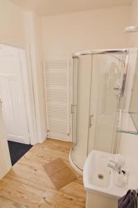 A bathroom at APARTHOTEL VÍTKOVICE