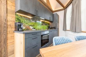 Küche/Küchenzeile in der Unterkunft Apartment Bergjuwel