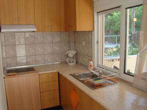 Een keuken of kitchenette bij Villa Pavlina