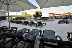 Restaurant ou autre lieu de restauration dans l'établissement Oceano Atlantico Apartamentos Turisticos