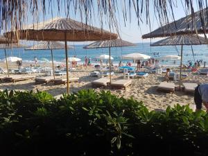 Paplūdimys apartamentų viešbutyje arba netoliese