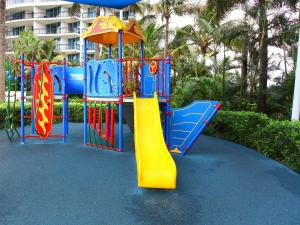 Children's play area at Chevron Renaissance 2 Bed Ocean + River View