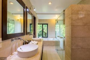 A bathroom at The Lookout Samui