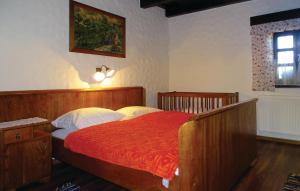 Postelja oz. postelje v sobi nastanitve Two-Bedroom Holiday Home in Murska Sobota