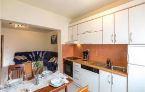Kuchyň nebo kuchyňský kout v ubytování Apartment Makarska Zagrebacka III
