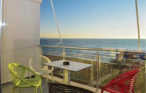 Balcone o terrazza di Two-Bedroom Apartment in Durres