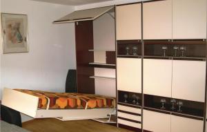 Küche/Küchenzeile in der Unterkunft Holiday Home Bergholz 03