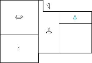 Planlösningen för Holiday home Stjärndalavägen Höllviken II