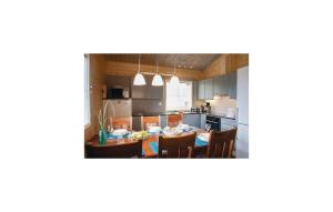 A kitchen or kitchenette at Holiday Home SF-52300 Ristiina with Fireplace 05
