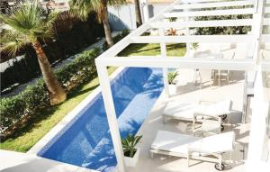 A view of the pool at Four-Bedroom Holiday Home in Llucmajor or nearby