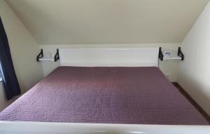 Säng eller sängar i ett rum på Apartment Vittsjö 27