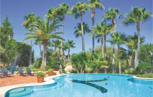 The swimming pool at or near Six-Bedroom Holiday Home in Pollenca