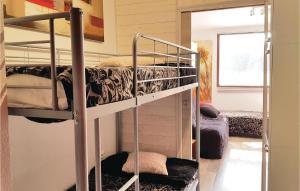 Un ou plusieurs lits superposés dans un hébergement de l'établissement 0-Bedroom Apartment in S.Pierre de Chartreuse