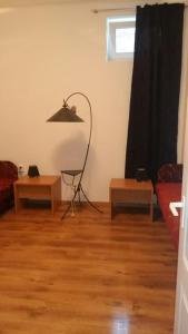 Khu vực ghế ngồi tại Porat Apartments