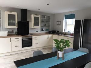 Una cocina o zona de cocina en Stoneybridge Lodge