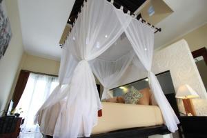 Cama o camas de una habitación en Nike Villas