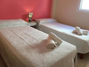 Cama o camas de una habitación en Apartamento Calma