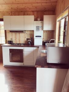 A kitchen or kitchenette at Southern County Resort