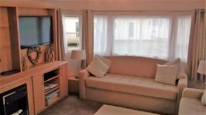A seating area at Cornwall Caravan Holidays