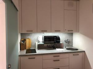 A kitchen or kitchenette at Alpine Studio Apartment - Dachstein Mountain View