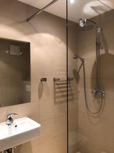 A bathroom at Alpine Studio Apartment - Dachstein Mountain View