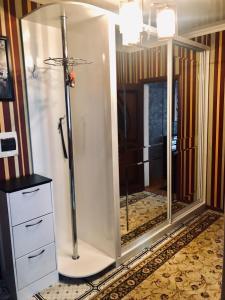 A bathroom at Apartment on Dekabristov