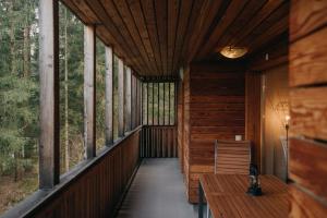 A balcony or terrace at APARTMA 7