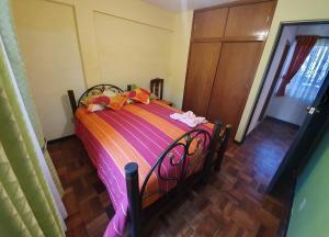 Cama o camas de una habitación en Coraly´s Apartment