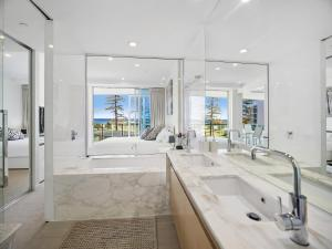 A bathroom at Nirvana By The Sea