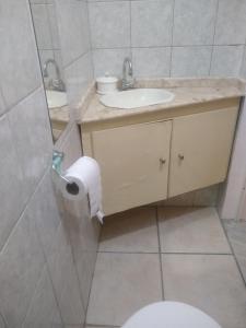 A bathroom at salvador, barra