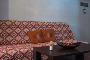 Χώρος καθιστικού στο James Room