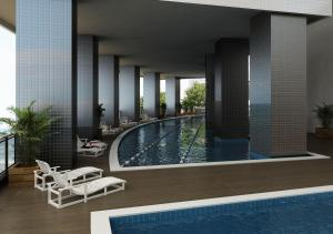 The swimming pool at or close to Landscape Deluxe Sea View