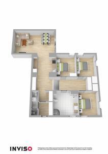 The floor plan of Peak Apartments