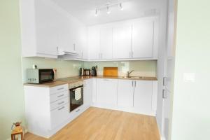A kitchen or kitchenette at Wright Apartments - Sørenga